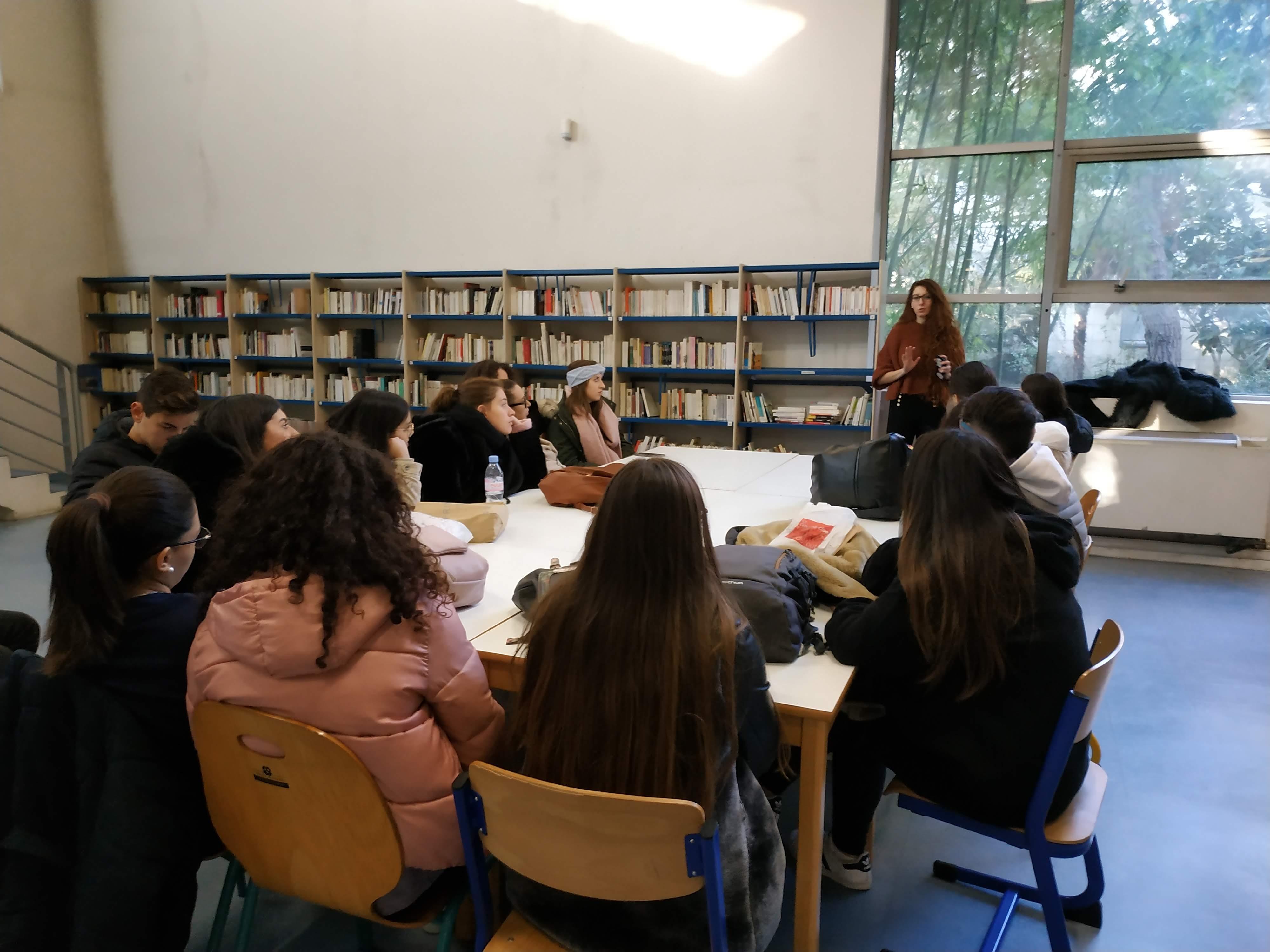 Deux étudiantes pour expliquer Erasmus Plus