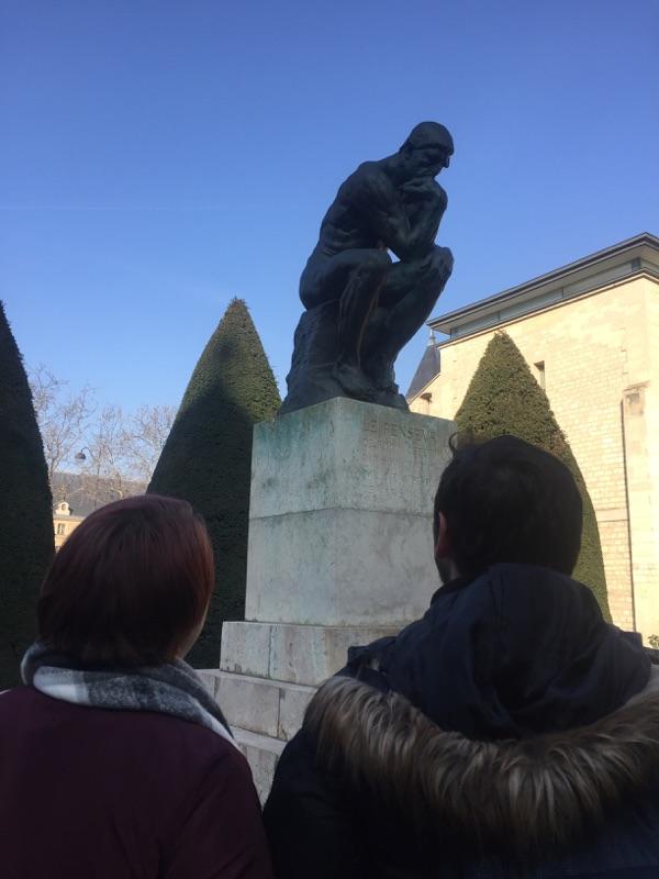 Visite du musée Rodin pour les élèves d'arts plastiques