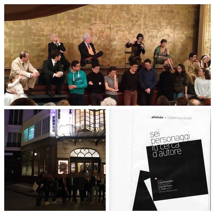 Les Esabac au théâtre l'Athénée
