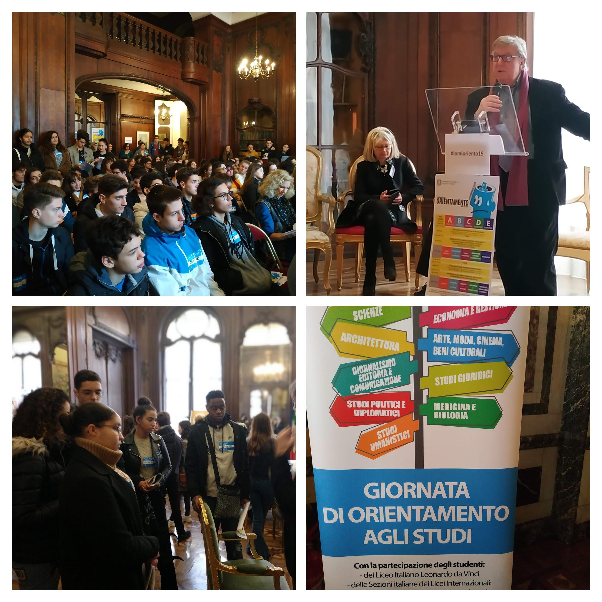 Journée d'Orientation Esabac au Consulat d'Italie