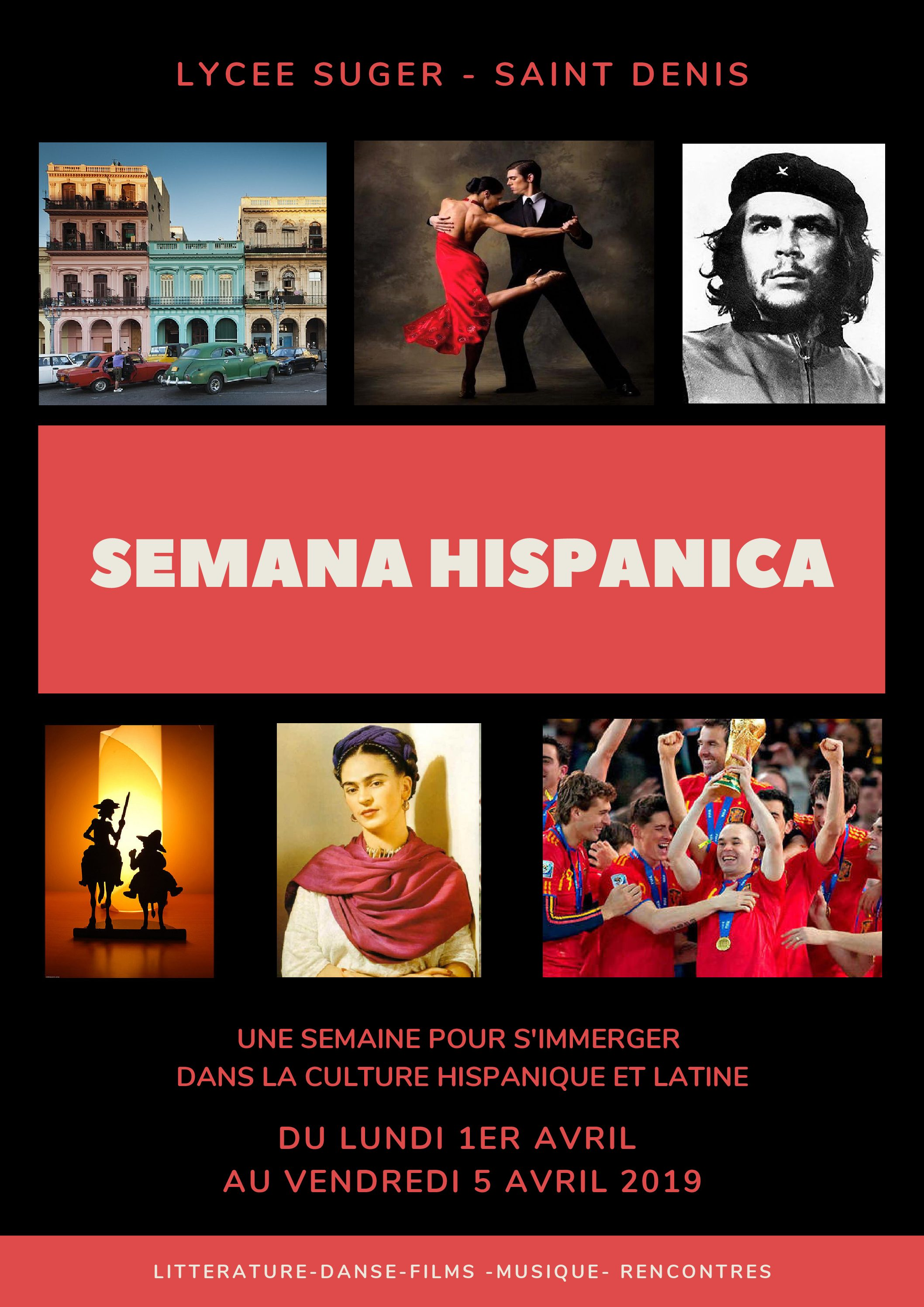 Semana Hispanaca, 4e !
