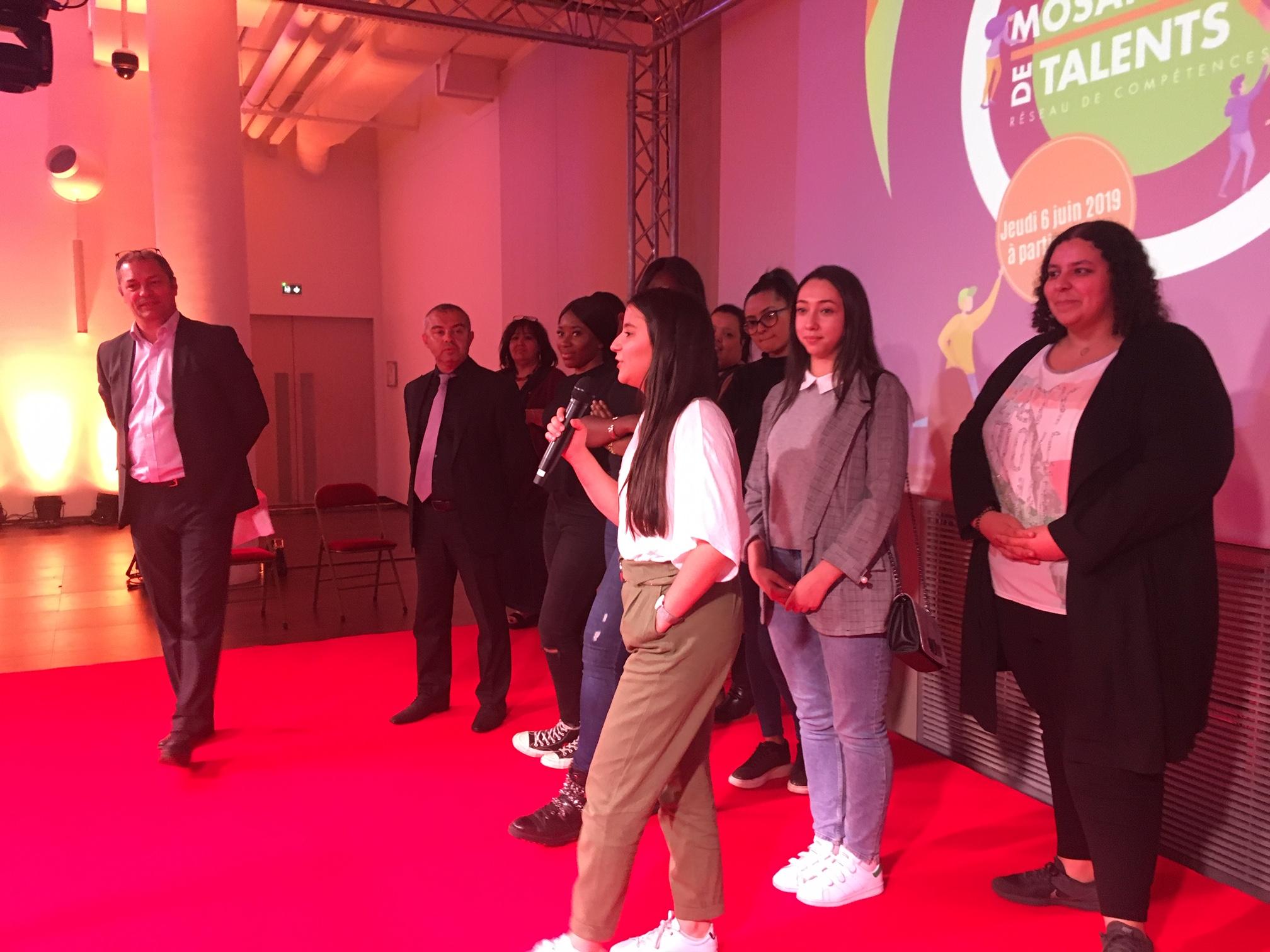 Des élèves de TSTMG récompensées au Concours Mosaïque des Talents