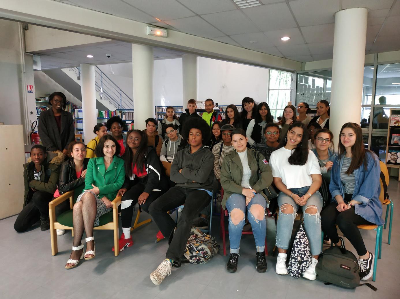 Rencontre littéraire : Natalia Ginzburg au lycée Suger !