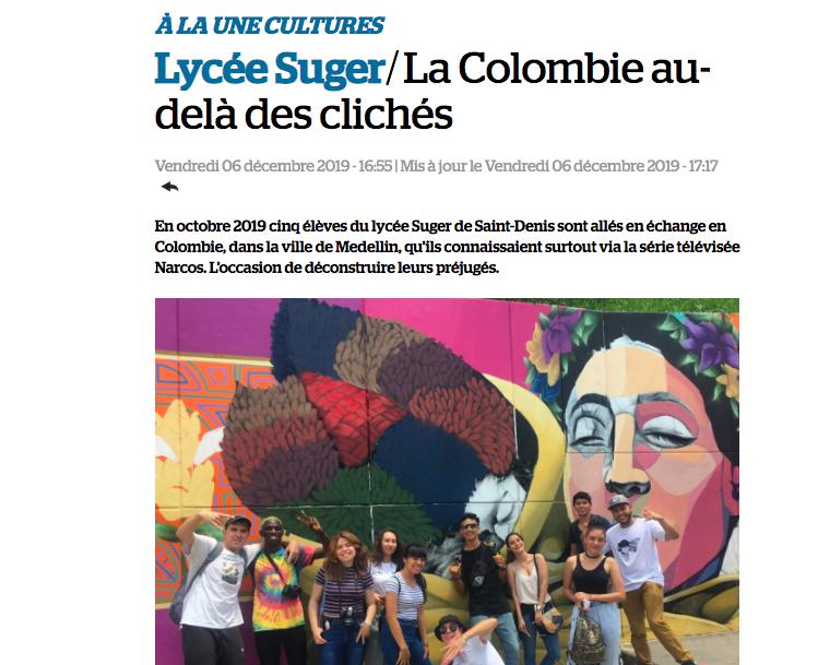 """JSD : """"La Colombie au delà des clichés"""""""
