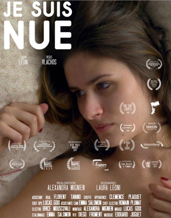 Premier court métrage d'Alexandra Mignien, une ancienne du BTS audiovisuel du lycée Suger.