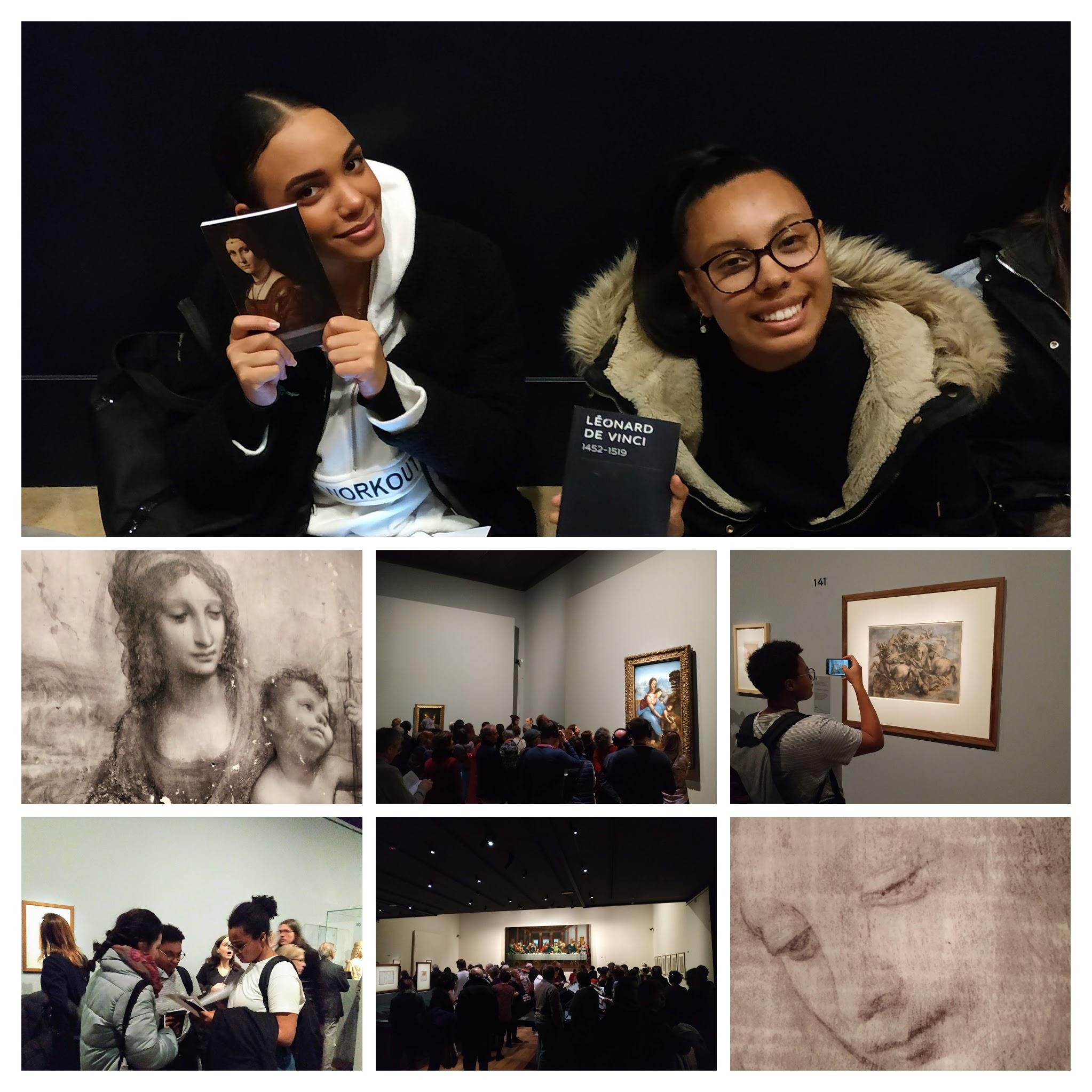 Exposition Leonardo Da Vinciau Louvre!