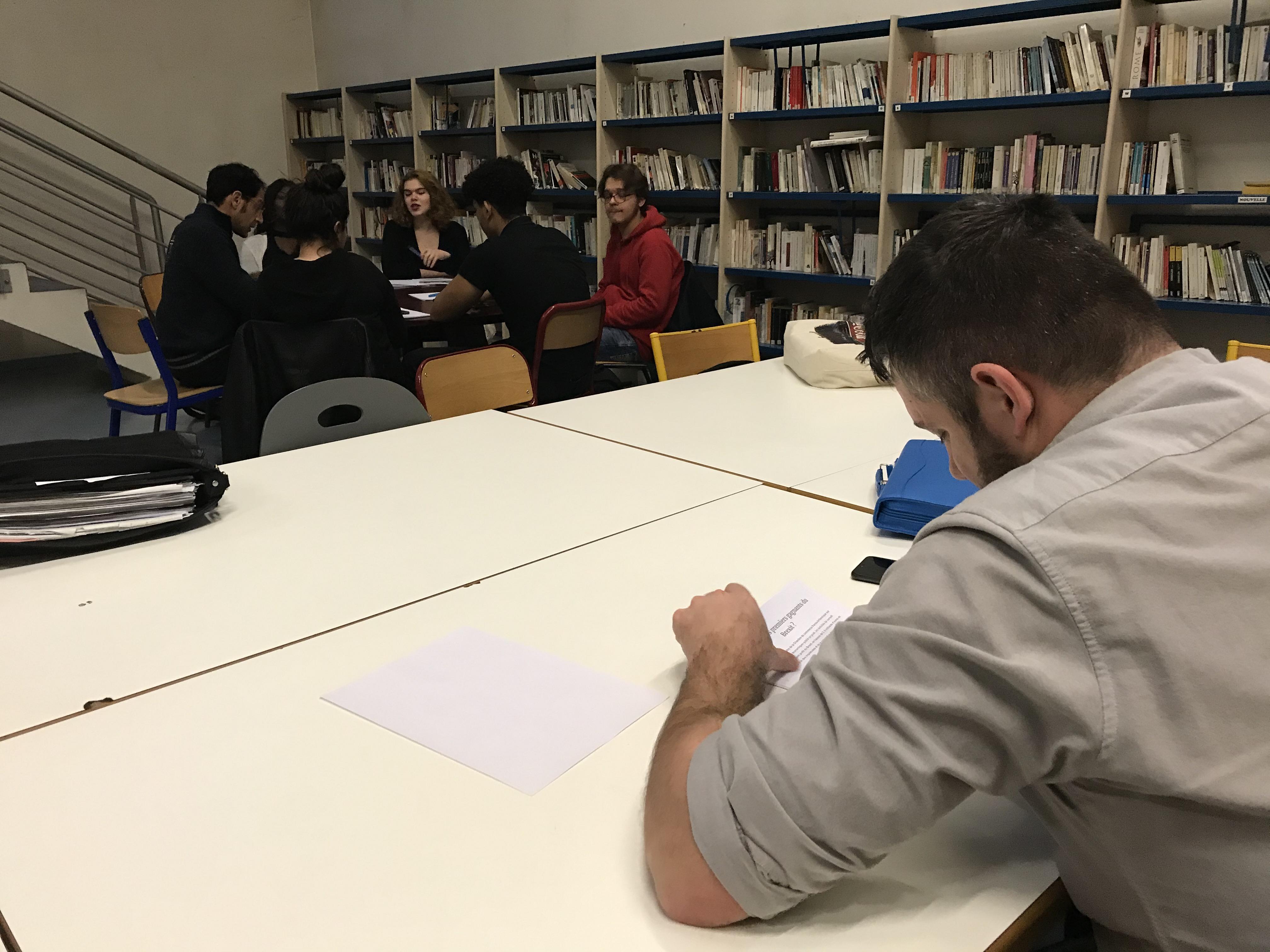 Ateliers préparation des élèves au concours de Sciences Po