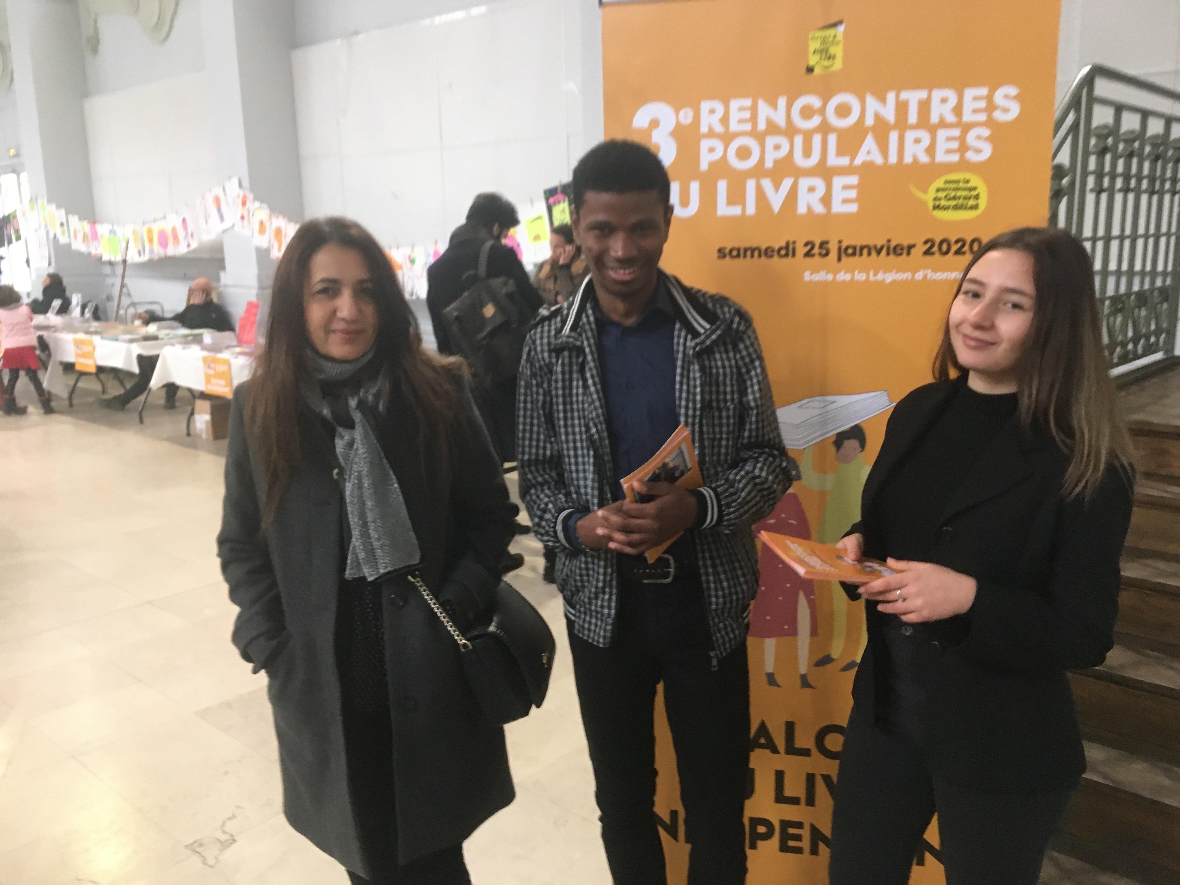 Les 1eres et Tle ARCU aux 3e Rencontres populaires du livre de Saint Denis