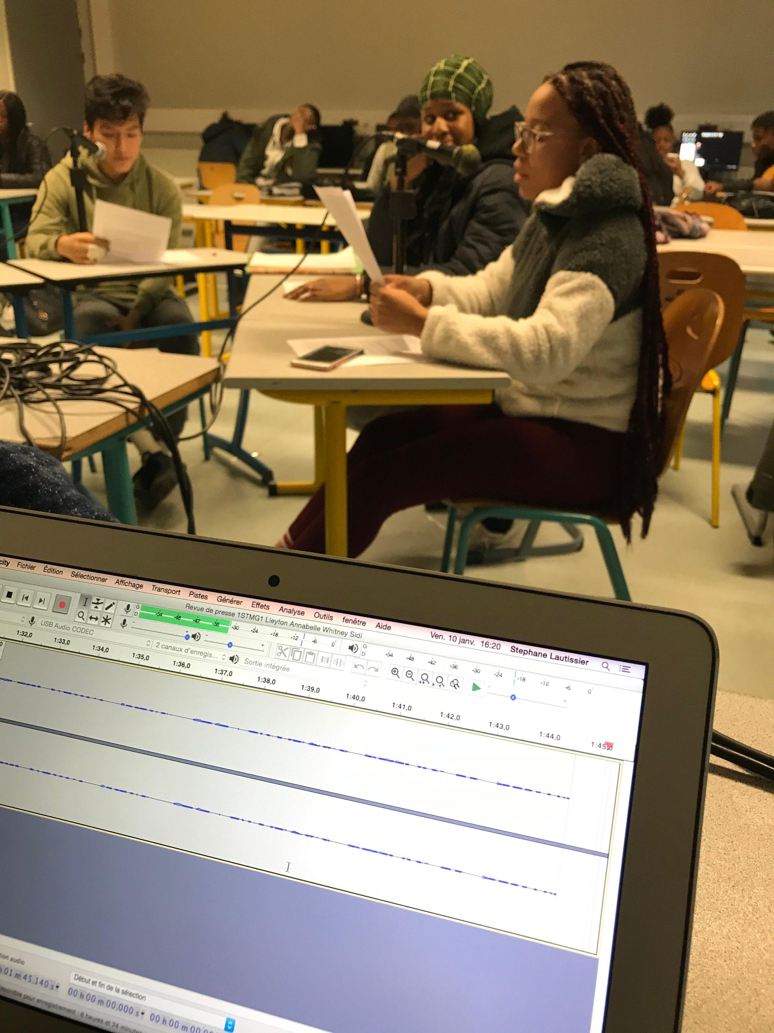 Atelier Webradio pour les 1STMG 1