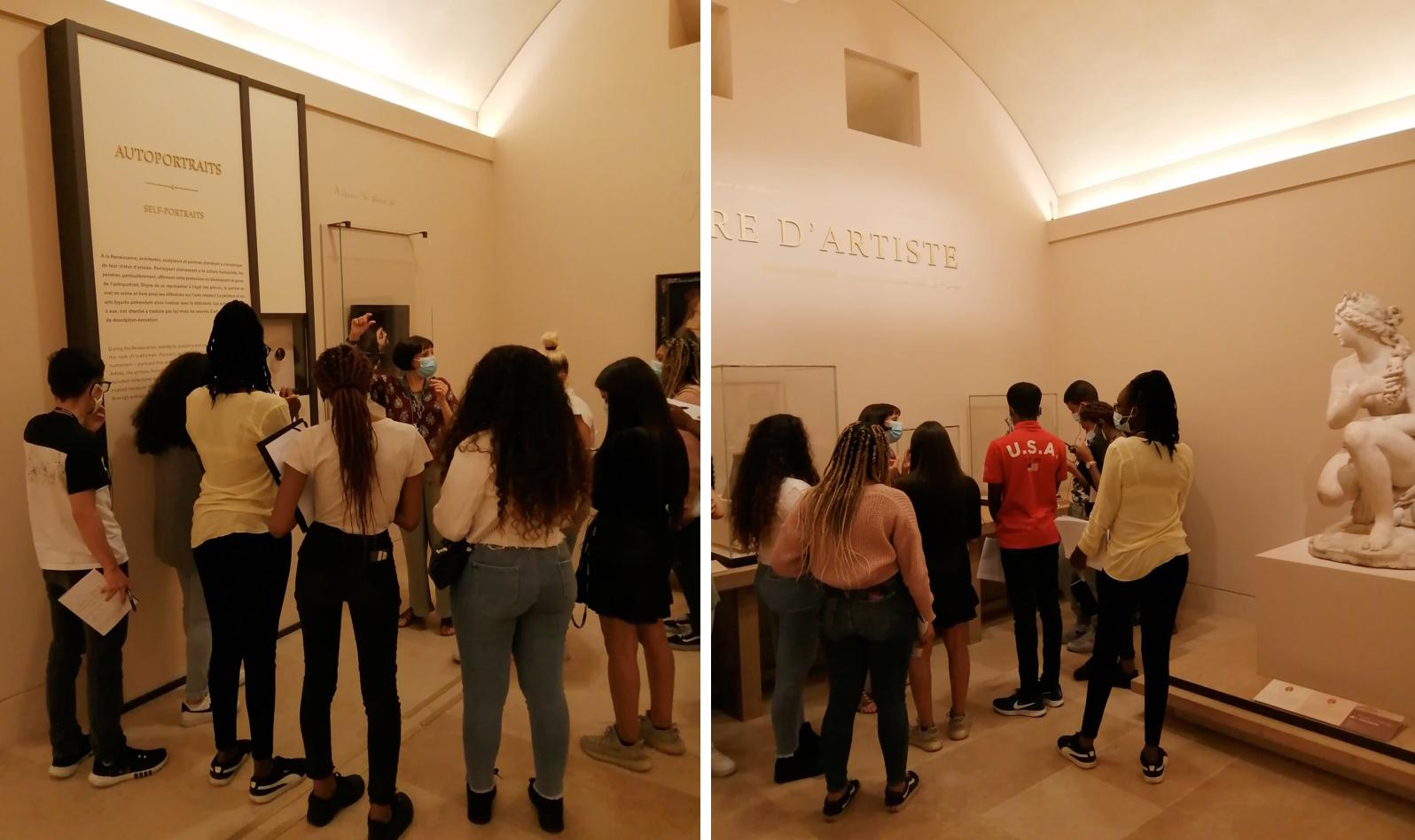 Exposition «Figure d'artiste» au Musée du Louvre