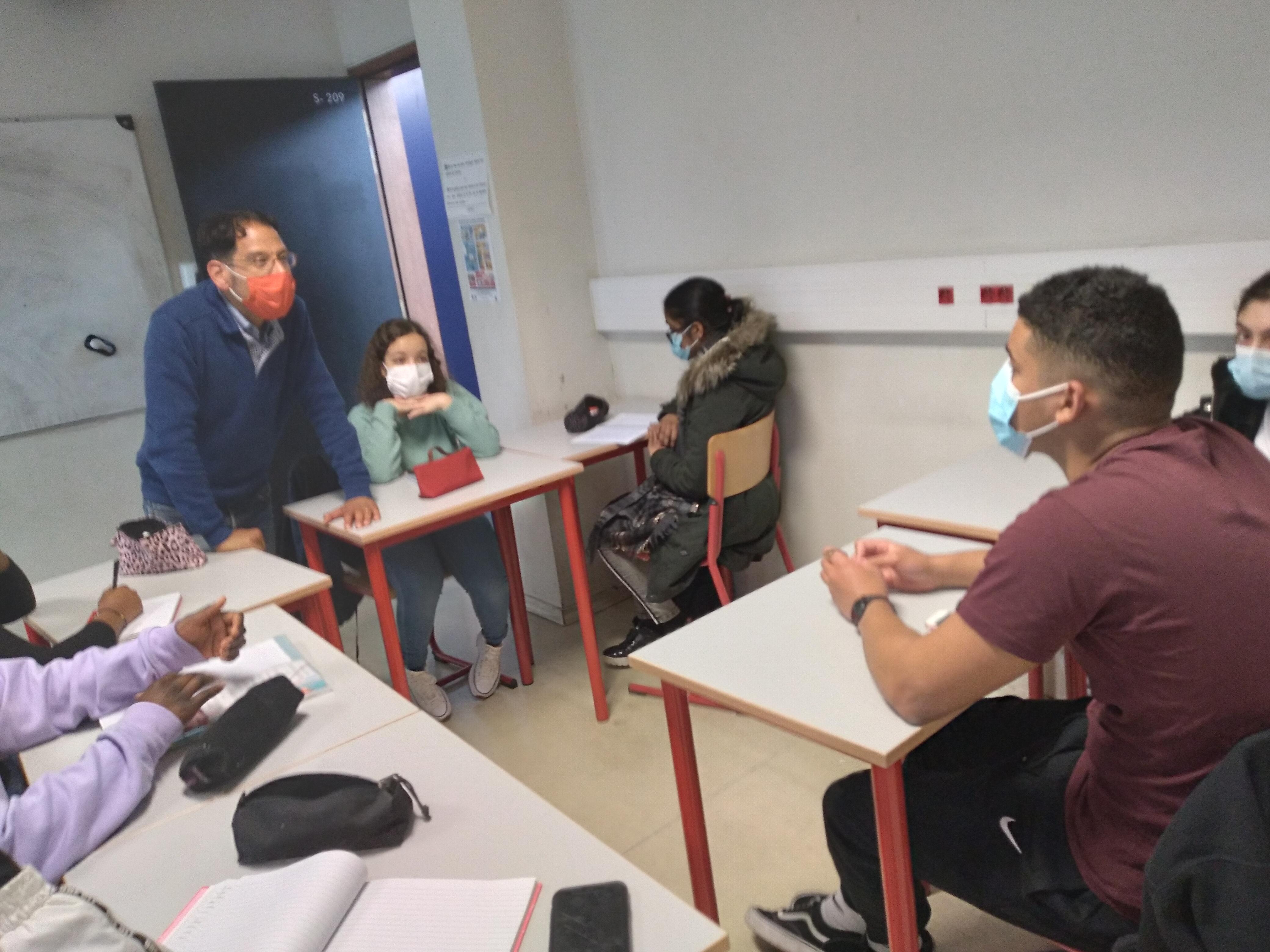 Lancement préparation Sciences Po