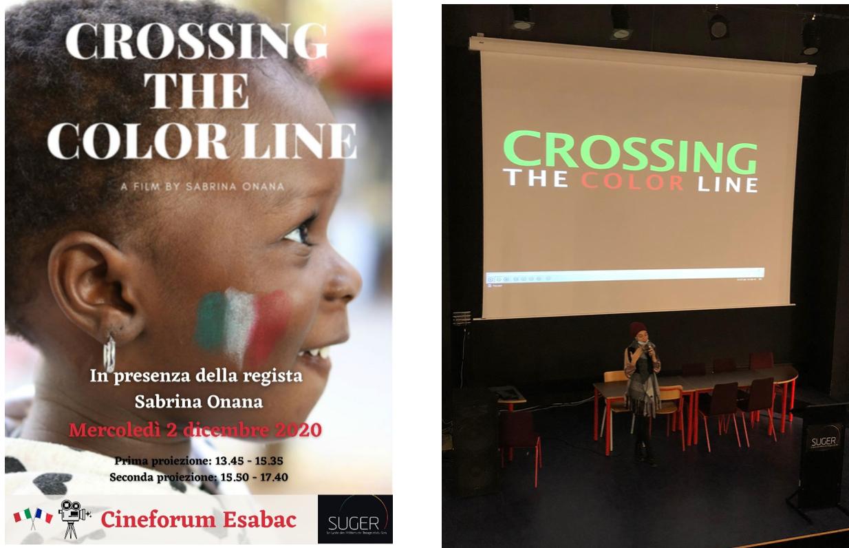 Cinéforum en présence de la réalisatrice italienne Sabrina Onana